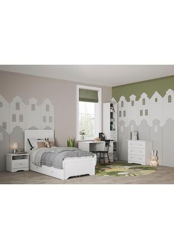 Home affaire Einzelbett »Lucy«, mit dekorative Frässungen, Breite 99 cm kaufen