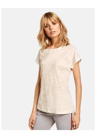 Taifun T - Shirt Kurzarm Rundhals »T - Shirt mit Glitzer - Front« kaufen