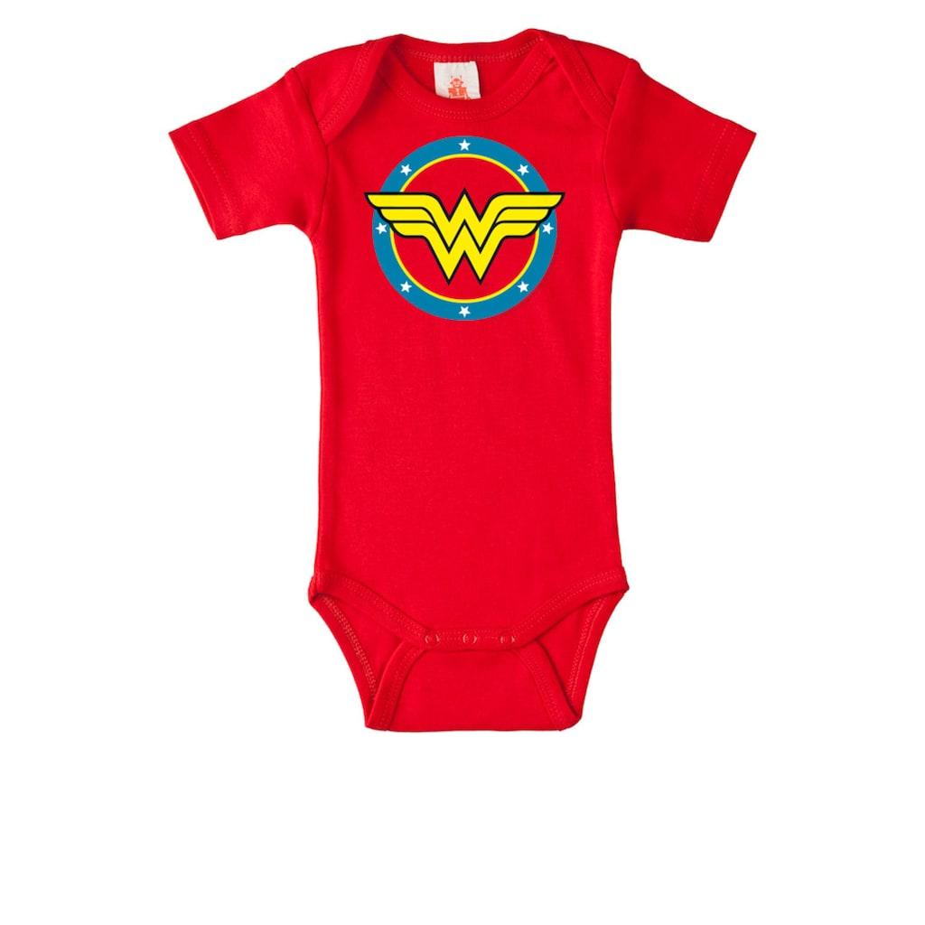 LOGOSHIRT Baby-Body mit Wonder Woman-Print