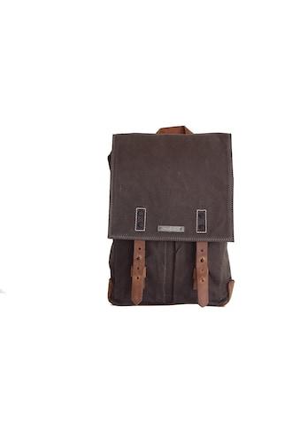 Margelisch Cityrucksack »Velan 1«, mit Leder-Rainflaps zum stilvollen zuschnüren kaufen