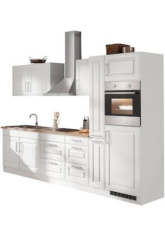 HELD MÖBEL Küchenzeile »Stockholm«, mit E-Geräten, Breite 300 cm, mit hochwertigen MDF... kaufen