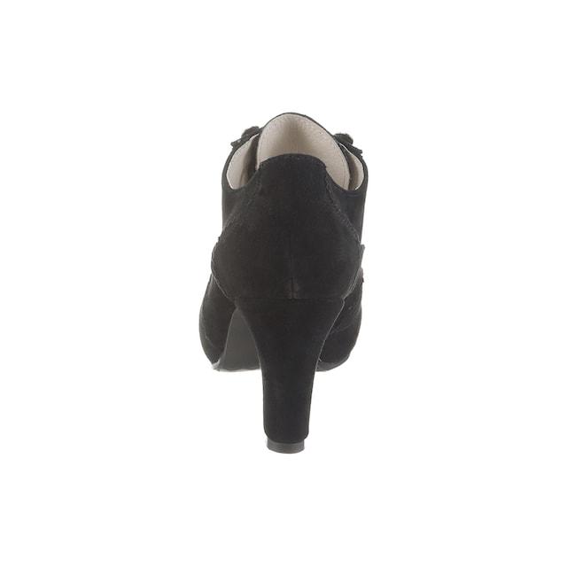 Hirschkogel Trachtenpumps mit gepolsterter Lederdecksohle