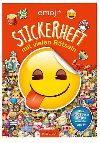 Buch »emoji - Stickerheft mit vielen Rätseln / DIVERSE« kaufen