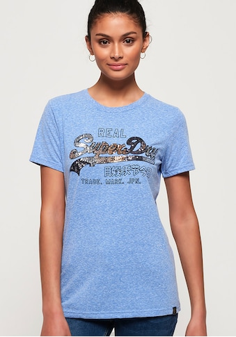 Superdry T-Shirt »VINTAGE LOGO CARNIVAL SEQUIN ENTRY TEE« kaufen