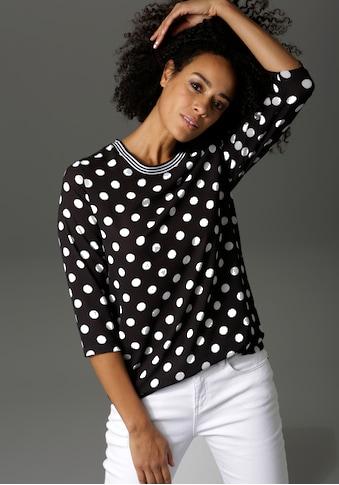 Aniston CASUAL Shirtbluse, mit Tupfen bedruckt kaufen