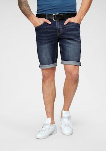 John Devin Jeansshorts, mit kontrastfarbenen Nähten kaufen