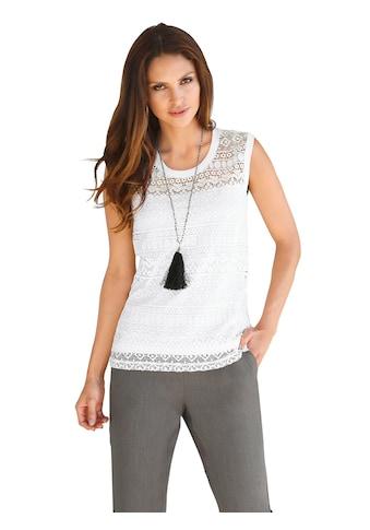 Alessa W. Shirttop mit Spitze kaufen