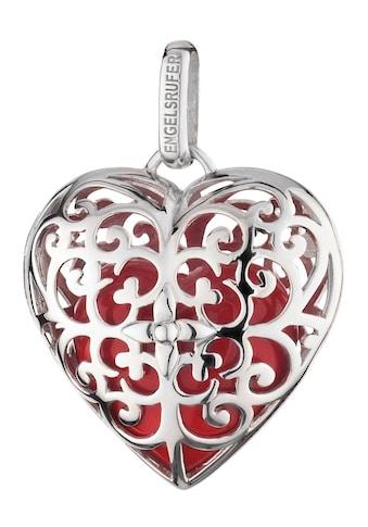 Engelsrufer Herzanhänger »With love, ENGELSRUFER HERZ ROT, ERP - 05 - HEART - L« (Set, 2 tlg., inkl. Klangherz) kaufen