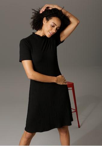 Aniston CASUAL Sommerkleid, mit Smok am Stehkragen kaufen