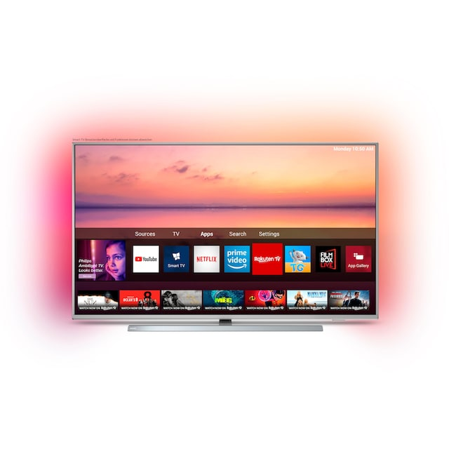 Philips 50PUS6804 LED-Fernseher (126 cm / (50 Zoll), 4K Ultra HD, Smart-TV