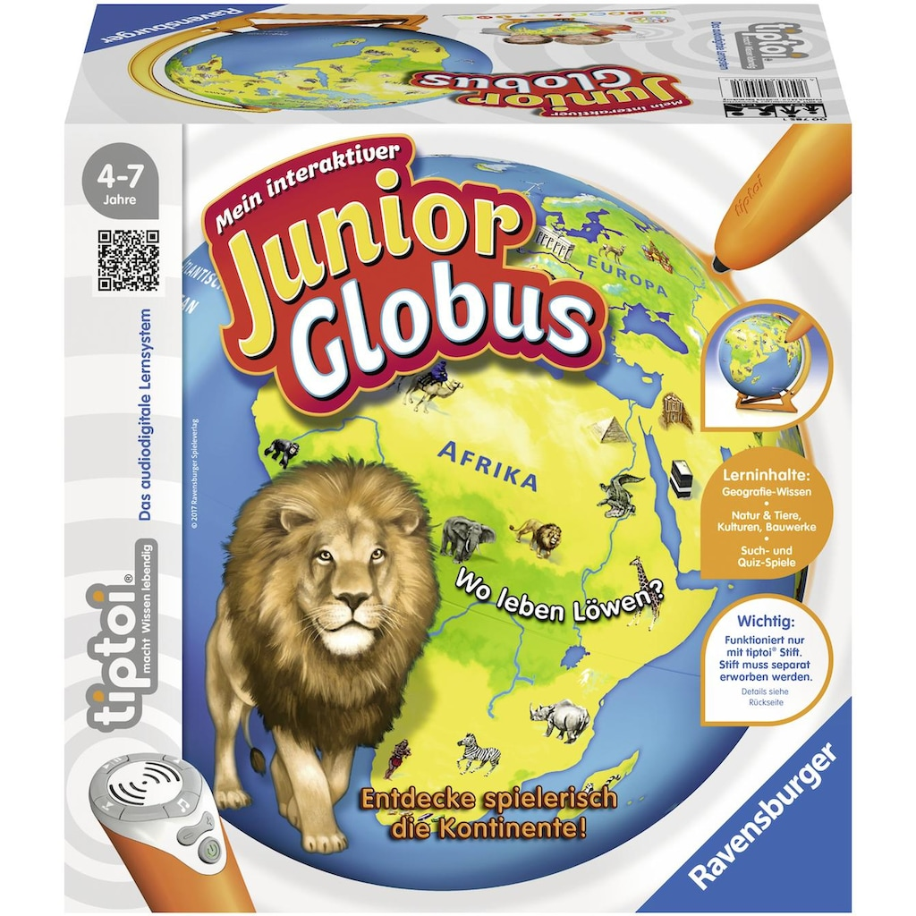 Ravensburger Globus »tiptoi® Mein interaktiver Junior Globus«, Made in Europe
