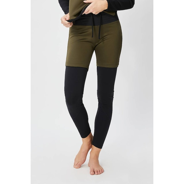 SUPER.NATURAL Funktionshose »W MOUNTAIN DOUBLE LAYER PANT«