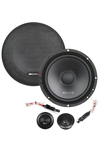MB Quart 2 - Wege - Komponenten - Lautsprechersystem 16,5 cm »QM165«, (ein Set) kaufen