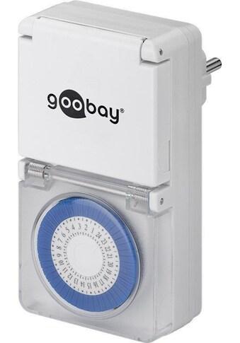Goobay Analoge Zeitschaltuhr IP44 »Set« kaufen