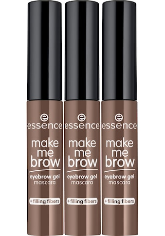 Essence Augenbrauen-Farbe »make me BROW eyebrow gel mascara«, (Set, 3 tlg.) kaufen