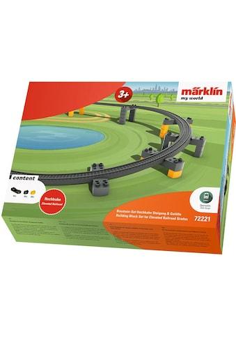 Märklin Modelleisenbahn-Hochbahn »Märklin my world - Baustein-Set Hochbahn Steigung &... kaufen