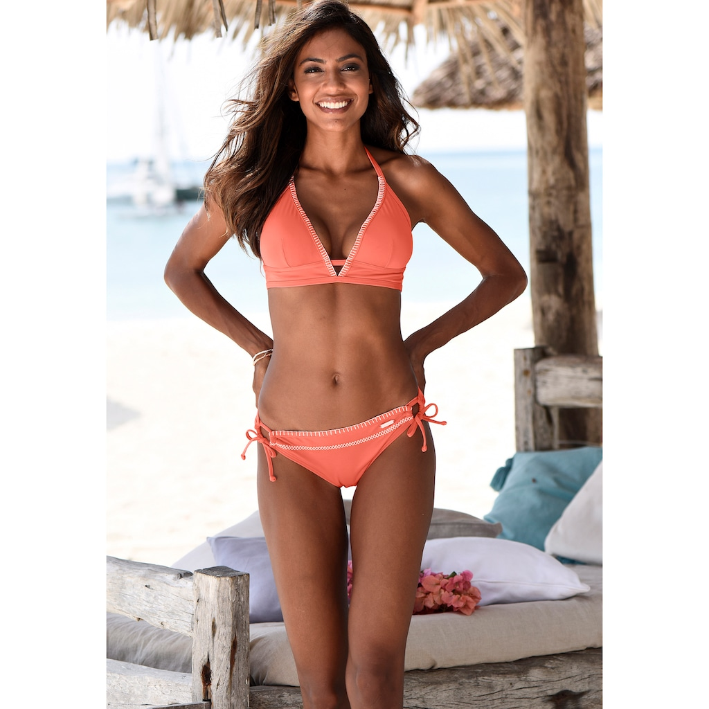Sunseeker Triangel-Bikini-Top »Dainty«, mit Häkelkante