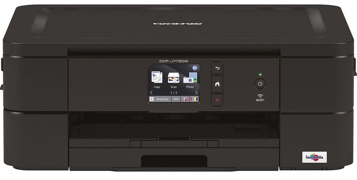 brother tintenstrahl multifunktionsdrucker dcp j772dw. Black Bedroom Furniture Sets. Home Design Ideas