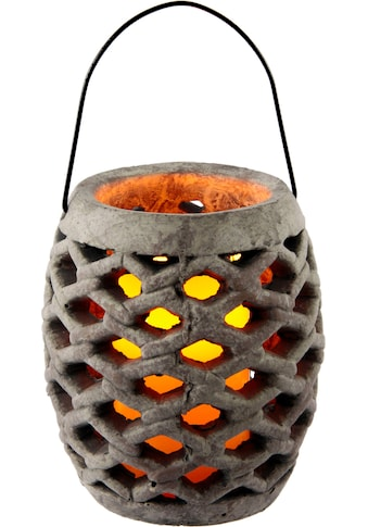 Laterne »Keramik Windlicht mit LED« kaufen