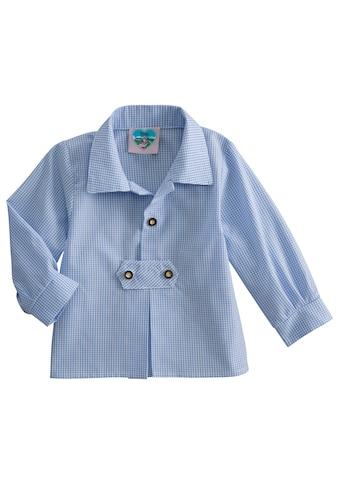 Turi Landhaus Trachtenhemd Baby in Karooptik kaufen