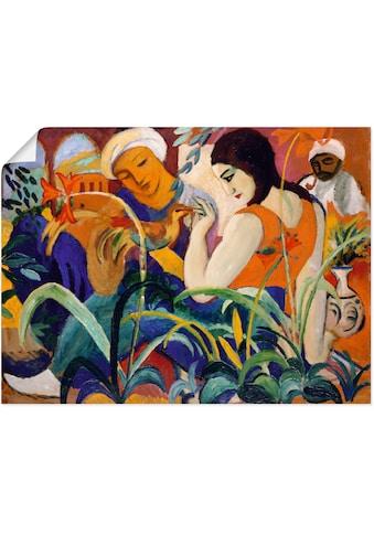 Artland Wandbild »Orientalische Frauen. 1912«, Gruppen & Familien, (1 St.), in vielen... kaufen