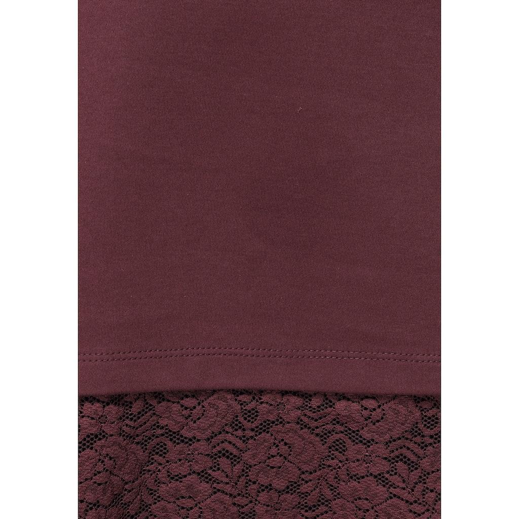 Boysen's Kapuzenshirt, mit elastischer Spitzenkante