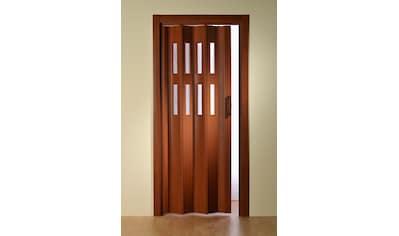 Falttür »Luciana«, BxH: bis 88,5x202 cm, kürzbar, Fenster mit Riffelstruktur kaufen