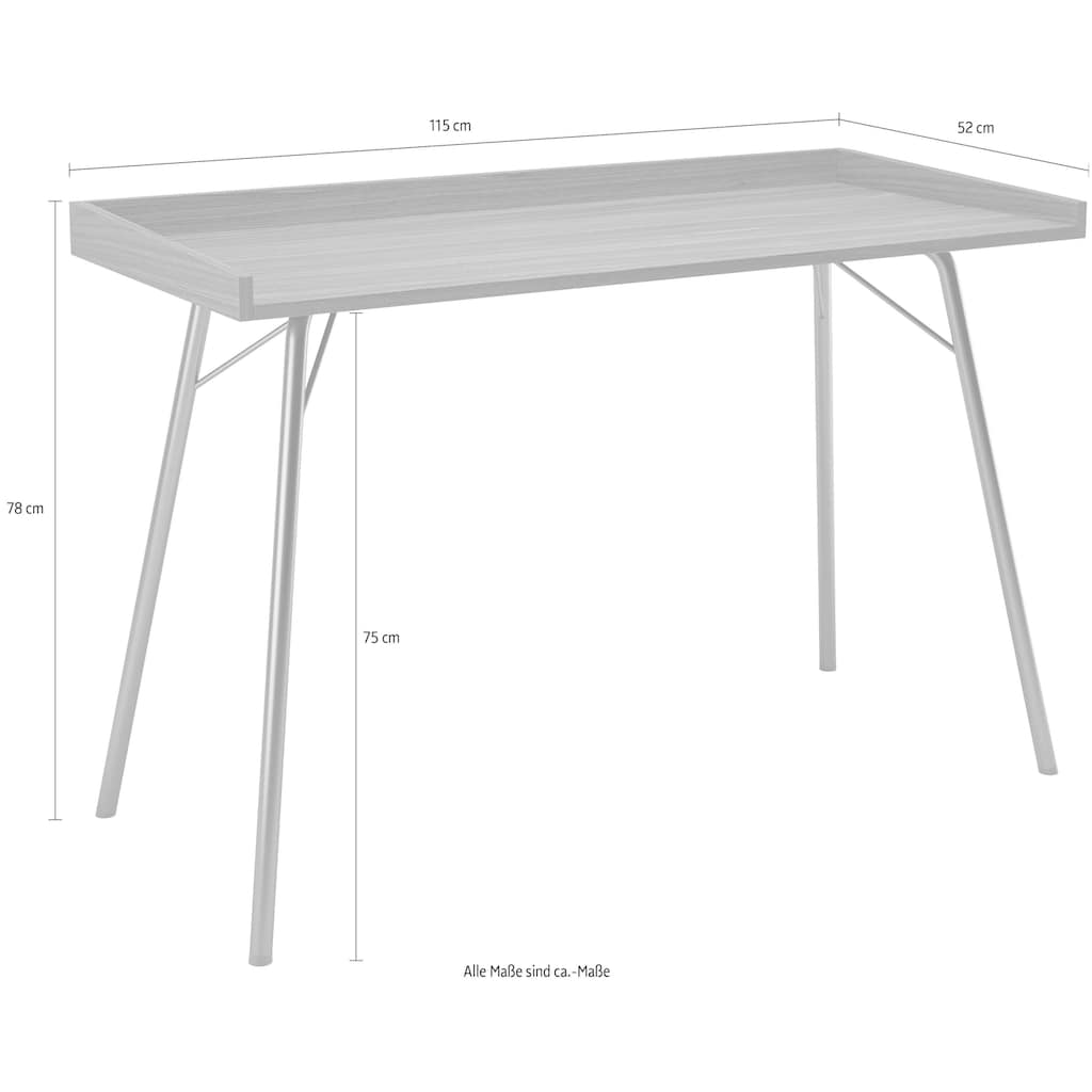 Woodman Schreibtisch »Rayburn«, im schlichten skandinavischen Design