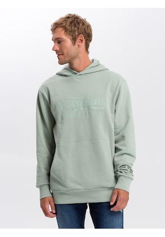 Cross Jeans® Hoodie »25253«, Hoody mit plakativem Label-Print kaufen