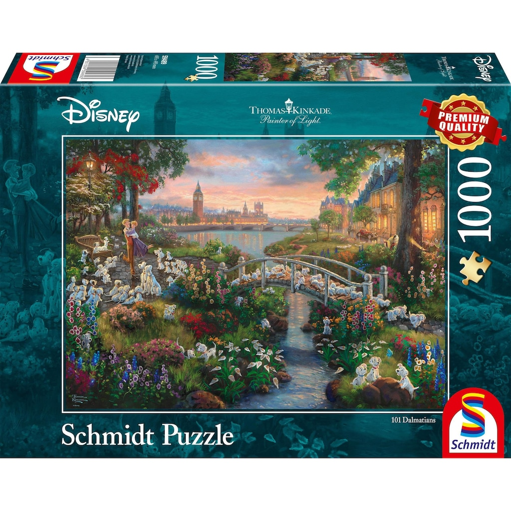Schmidt Spiele Puzzle »Disney, 101 Dalmatiner«, Made in Germany