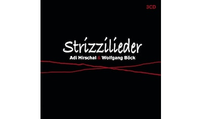 Musik-CD »Strizzilieder / Hirschal,Adi & Wolfgang Böck« kaufen
