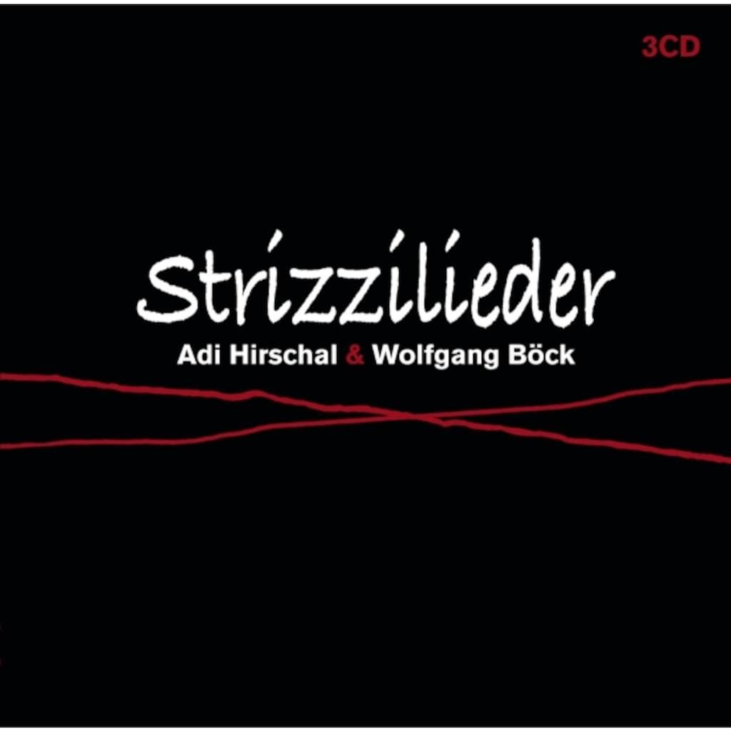 Musik-CD »Strizzilieder / Hirschal,Adi & Wolfgang Böck«