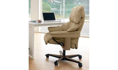 Stressless® Relaxsessel »Reno«, mit Home Office Base, Größe M, Gestell Eiche kaufen