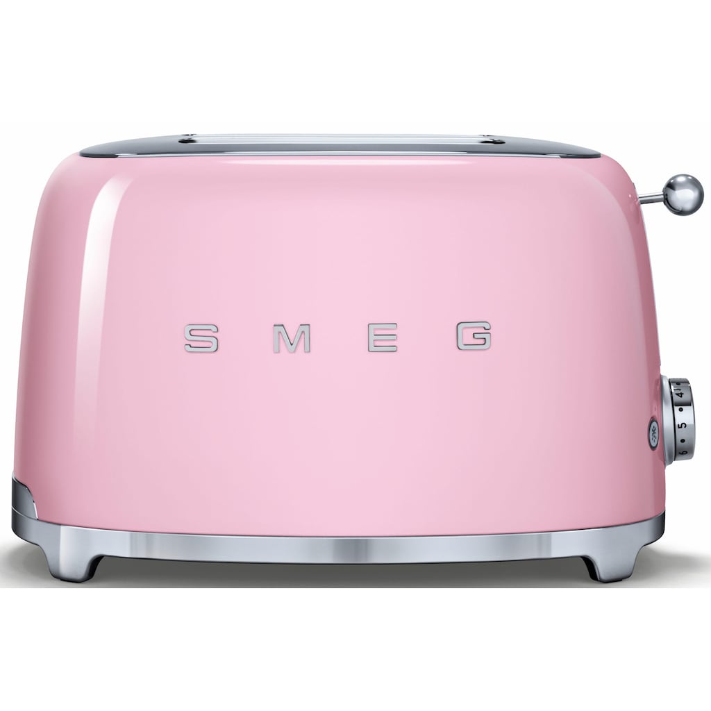 Smeg Toaster »TSF01PKEU«, 2 kurze Schlitze, für 2 Scheiben, 950 W