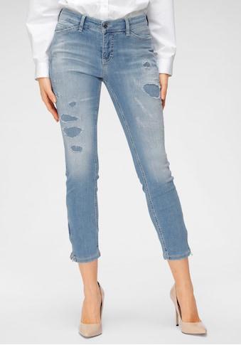 MAC 7/8-Jeans »Dream Chic Destroyed«, Unterlegte Destroyed-Effekte kaufen