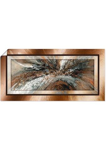 Artland Wandbild »Gold Abstrakt 1«, Gegenstandslos, (1 St.), in vielen Größen &... kaufen