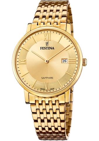 Festina Schweizer Uhr »Festina Swiss Made, F20020/2« kaufen