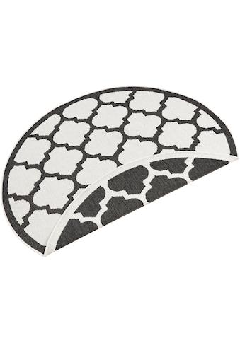 bougari Teppich »Palermo«, rund, 5 mm Höhe, In- und Outdoor geeignet, Wendeteppich,... kaufen