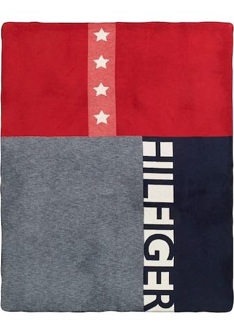 TOMMY HILFIGER Plaid »American Flag«, mit Sternen kaufen