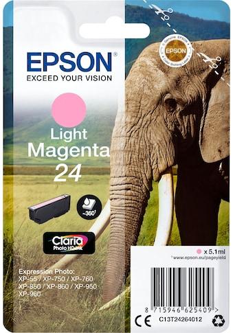 Epson Tintenpatrone »Tinte Singlepack hell Magenta 24« kaufen