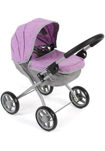 CHIC2000 Puppenwagen »Lilli, melange lila«, zusammenklappbar kaufen
