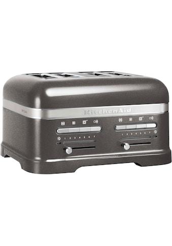 KitchenAid Toaster »Artisan 5KMT4205EMS«, 4 kurze Schlitze, für 4 Scheiben, 2500 W kaufen