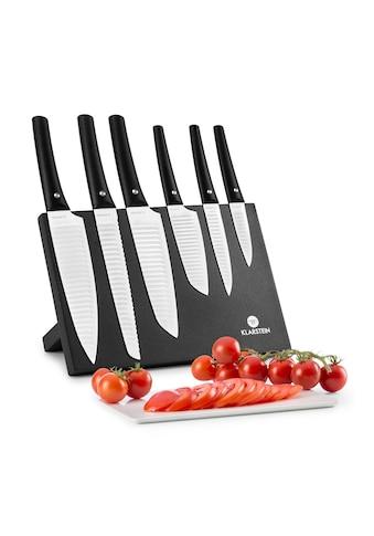 Klarstein Messerset 7 - tlg Magnetblock Keramikversiegelung »Kashira« kaufen