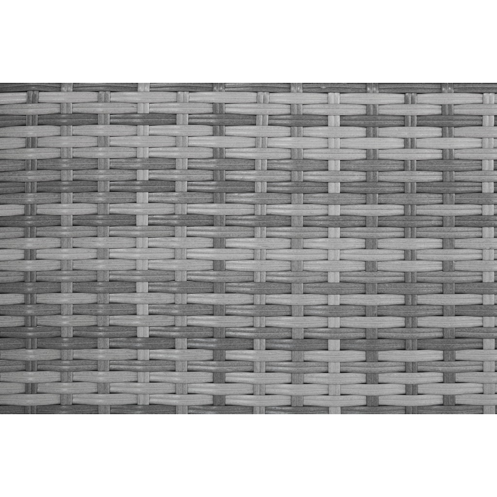 KONIFERA Loungeset »Ibiza«, 13-tlg., 1x 3-er Sofa, 2 Hocker, Tisch 54x54 cm, Polyrattan