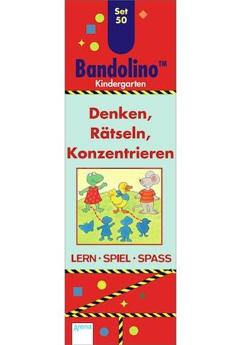 Buch »Denken, Rätseln, Konzentrieren / Friederike Barnhusen, Bianca Johannsen, Katrin... kaufen