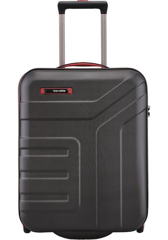 travelite Hartschalen-Trolley »Vector, 55 cm, schwarz«, 2 Rollen kaufen