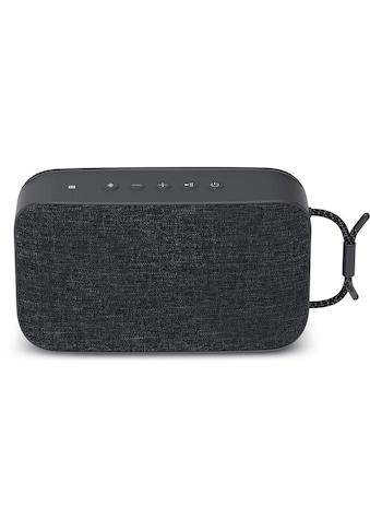TechniSat Portabler Bluetooth - Lautsprecher mit True Wireless Stereo »BLUESPEAKER TWS XL« kaufen