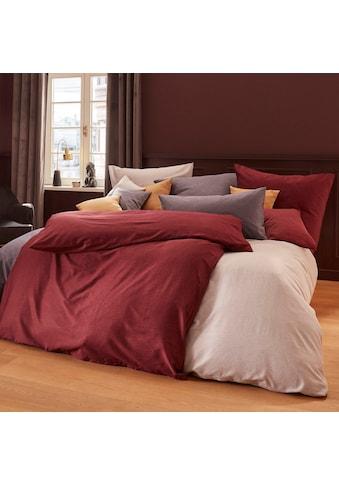 Schlafgut Bettwäsche »Mako-Satin«, mit zartem Seidenglanz kaufen