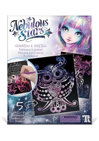 Nebulous Stars Kreativset »Kratzkunst«, (Set), Individuelle Gestaltung der Meisterwerke kaufen