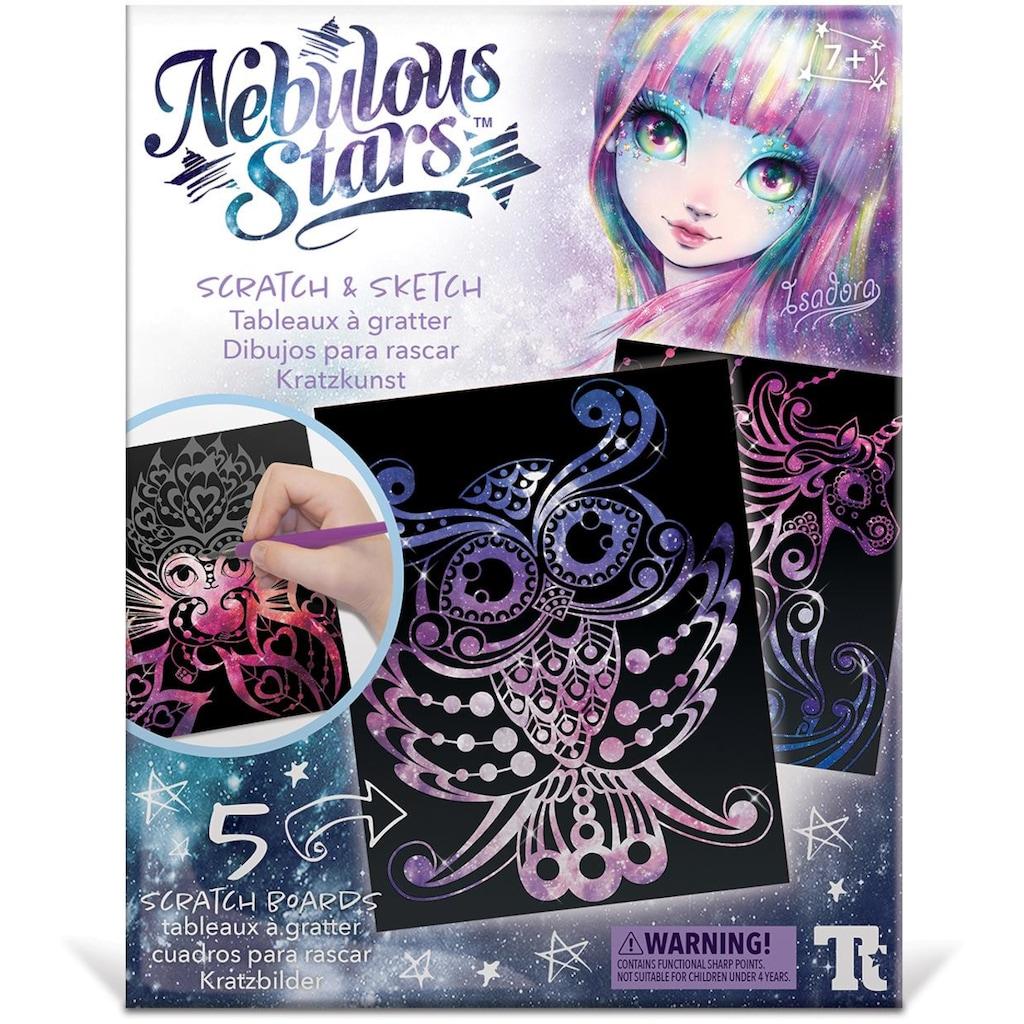 Nebulous Stars Kreativset »Kratzkunst«, (Set), Individuelle Gestaltung der Meisterwerke